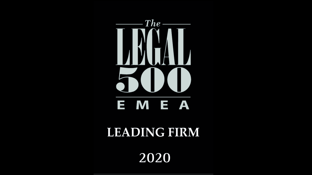 The LEGAL 2020 500